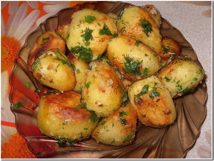 Рецепты картошки на новый год