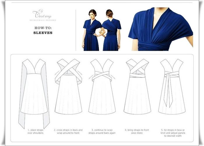 Двухстороннее платье как сшить 70