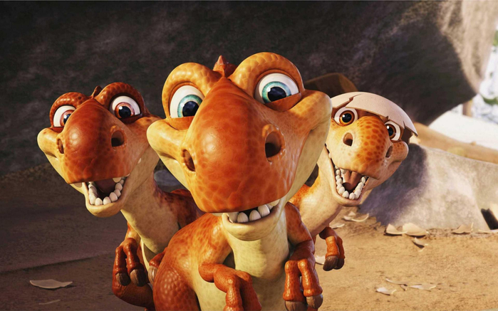 прикольные динозавры (700x437, 318Kb)