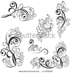 Превью stock-vector-grapevine-vector-wine-design-elements-117484858 (450x462, 139Kb)