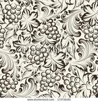 Превью stock-vector-vine-seamless-background-vector-illustration-173716481 (450x470, 258Kb)