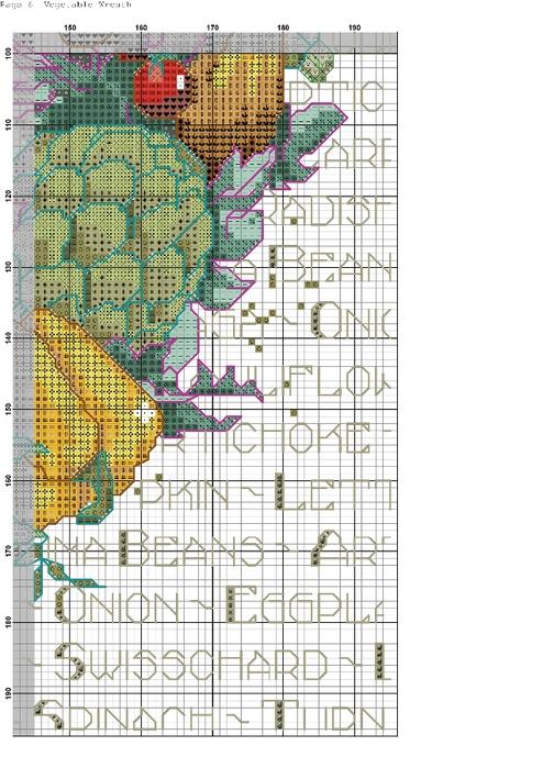 ОВОЩНОЙ ВЕНОК. Схема вышивки (6) (494x699, 358Kb)