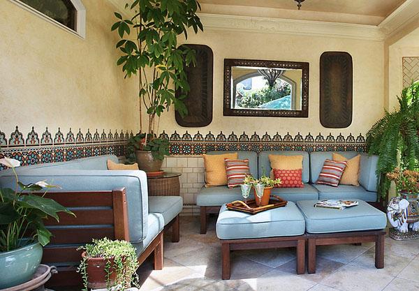марокканский стиль в интерьере фото 2 (600x417, 270Kb)