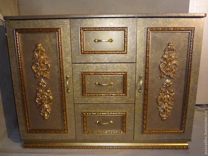 Мебель с декором своими руками