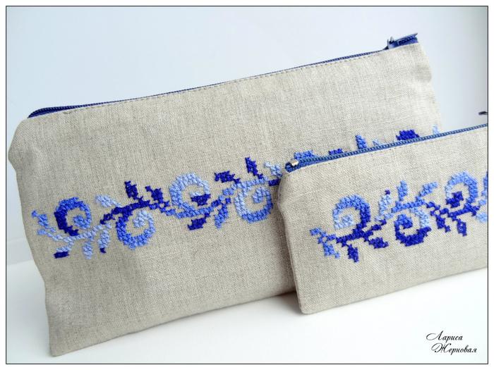 Вышивка на сумочках клатчах. Схемы (5) (700x525, 316Kb)