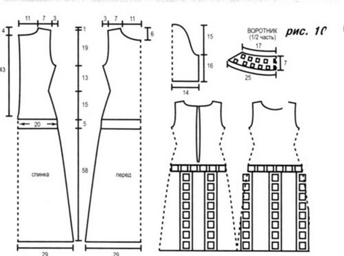 Вязаные платья 2018, своими руками, схемы