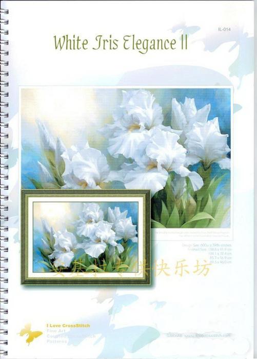 00-IL-014_White Iris Elegance II (501x700, 286Kb)