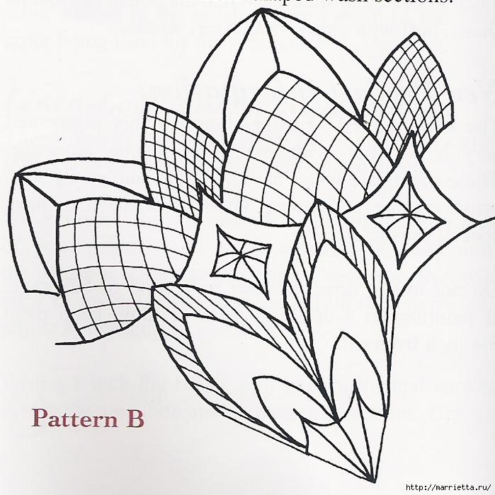 Декорирование и точечная роспись - имитация кружева (3) (699x700, 345Kb)