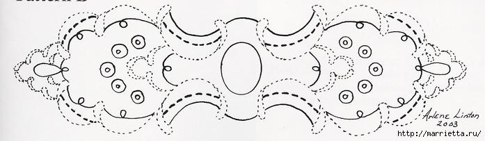 Декорирование и точечная роспись - имитация кружева (14) (700x203, 114Kb)
