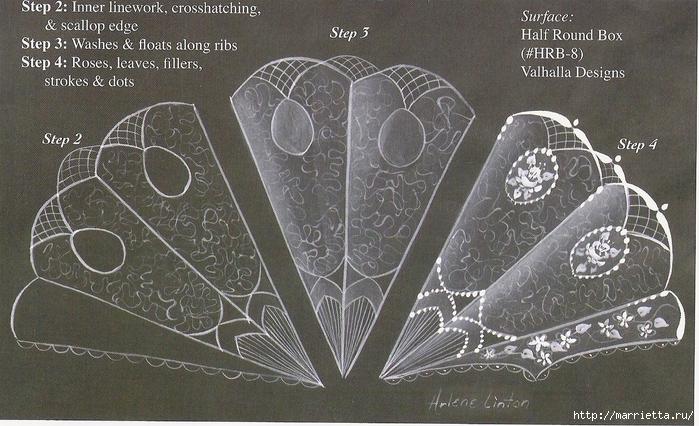 Декорирование и точечная роспись - имитация кружева (46) (700x426, 313Kb)