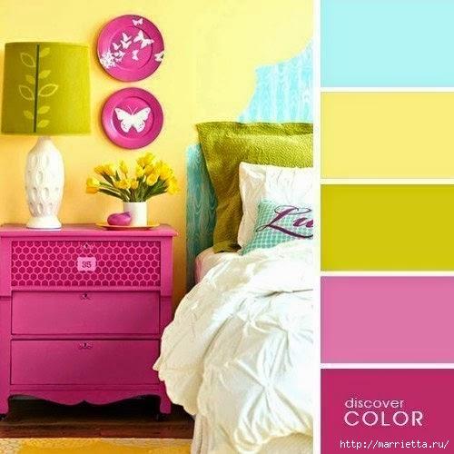 Цветовая гамма - таблицы сочетания цветов в интерьере (6) (500x500, 121Kb)