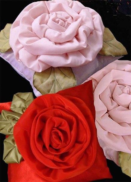 поушка-роза своими руками (1) (437x604, 136Kb)