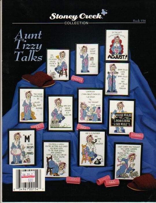 Aunt Lizzie Talks Contraportada (540x700, 425Kb)
