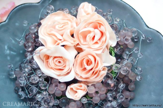 Ванильные розы из шелка. Мастер-класс (2) (675x450, 234Kb)