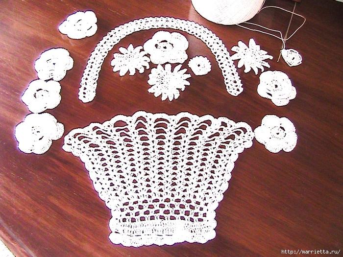 Декорирование подушки вязаными крючком фрагментами (4) (700x525, 402Kb)