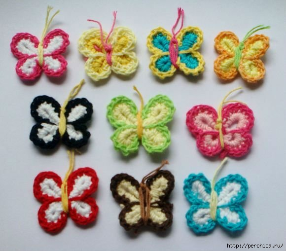 4979645_WholesaleAssortedColoursHandmadecottoncrochetflowerbutterflyknittingflowerfreeshipping (580x509, 122Kb)