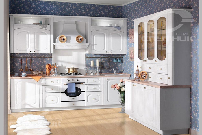 Кухонная мебель от фирмы СПУТНИК стиль (2) (700x469, 427Kb)