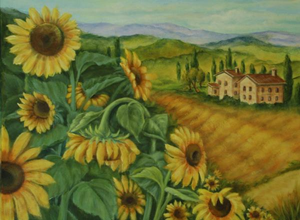 5Sunflowers2 (600x440, 390Kb)