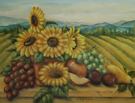 5Sunflowers3 (550x419, 280Kb)
