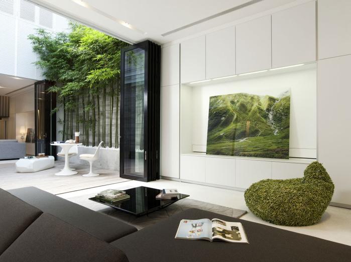 Изысканная и элегантная резиденция в Сингапуре (5) (700x522, 303Kb)