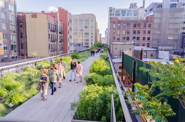 городской парк хай-лайн на манхэттене 1 (700x463, 298Kb)