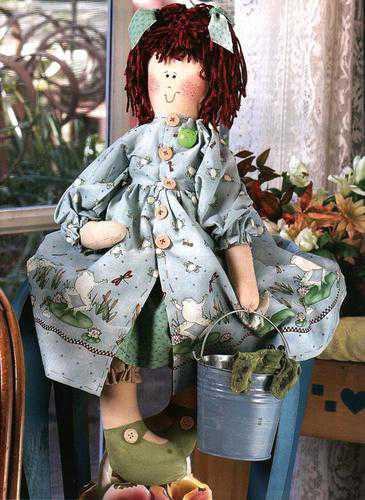 Галерея текстильных кукол. Обсуждение на LiveInternet - Российский Сервис Онлайн-Дневников