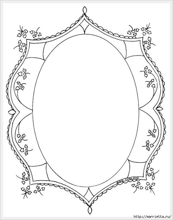 Декорирование и точечная роспись - имитация кружева (2) (553x700, 140Kb)