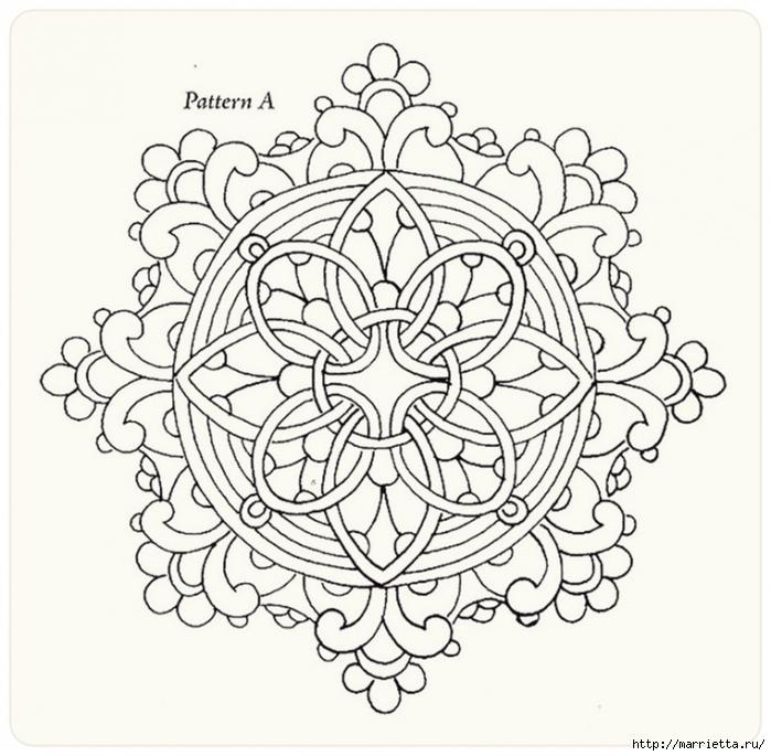 Декорирование и точечная роспись - имитация кружева (4) (700x685, 308Kb)