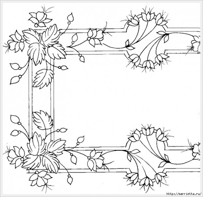 Декорирование и точечная роспись - имитация кружева (8) (700x677, 267Kb)