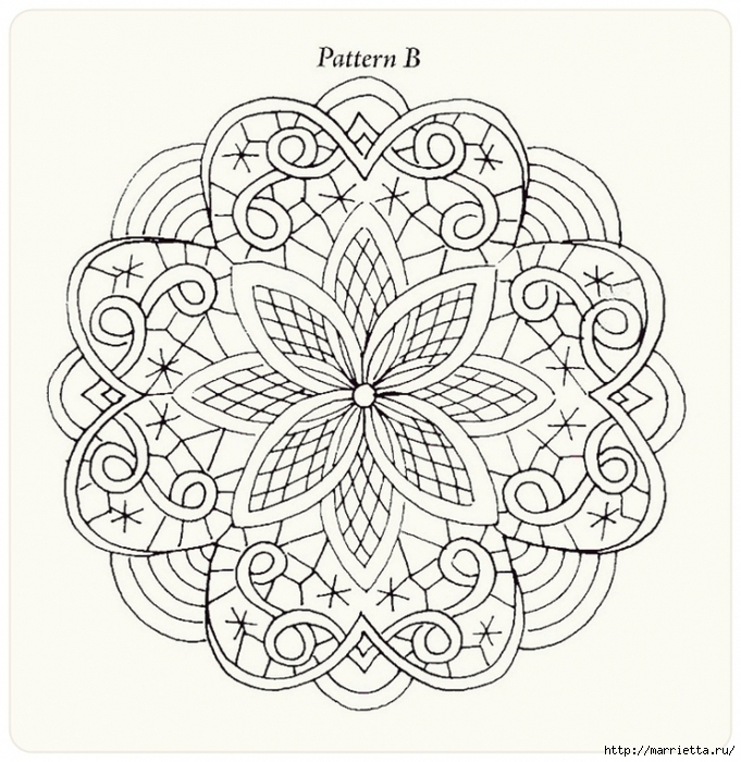 Декорирование и точечная роспись - имитация кружева (14) (681x700, 358Kb)