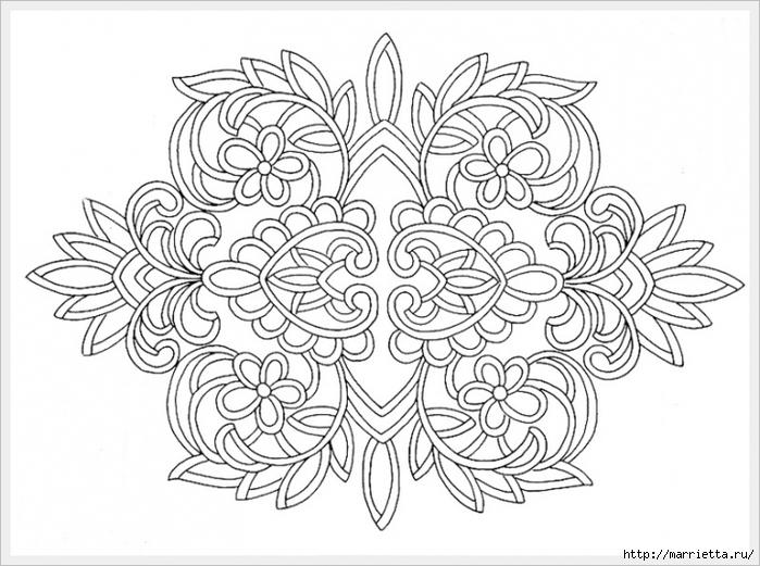 Декорирование и точечная роспись - имитация кружева (22) (700x521, 248Kb)