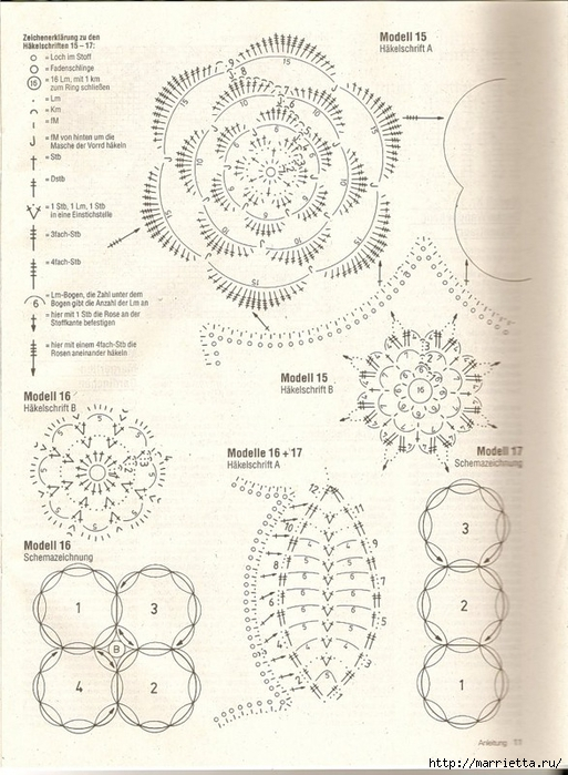 Вязание крючком. Скатерти, салфетки и шторки (24) (513x700, 282Kb)