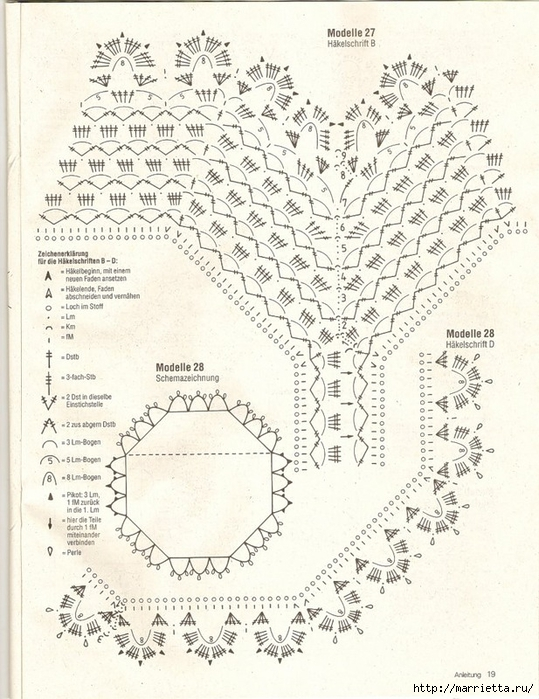 Вязание крючком. Скатерти, салфетки и шторки (32) (539x700, 318Kb)