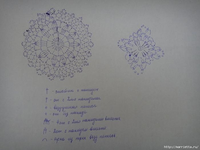 Вяжем крючком. Два белых летних топика (2) (700x525, 202Kb)