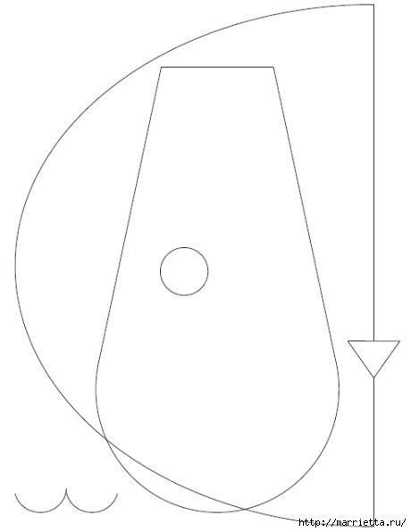 Детская подушечка из лоскутков - СОБАЧКА (2) (460x596, 32Kb)