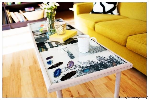 Своими руками декорирование журнального стола