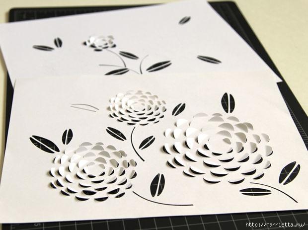 3D фонарики из бумаги. Шаблон (4) (620x463, 122Kb)