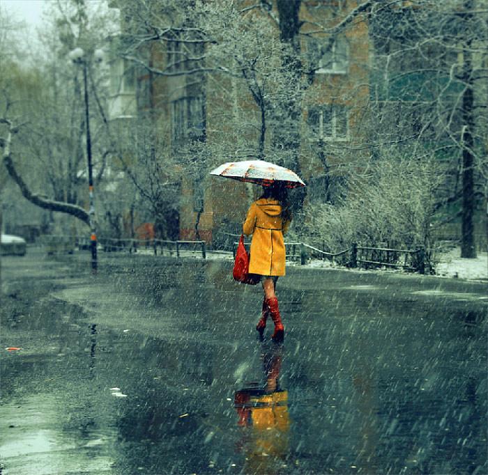 Фото девушек в пальто 13 фотография