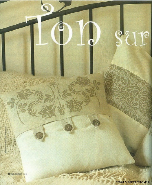 Вышивка роз на подушках (1) (525x638, 259Kb)
