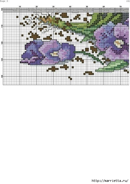 Схемы вышивки - котенок в кружке и в горшочке (2) (427x604, 118Kb)