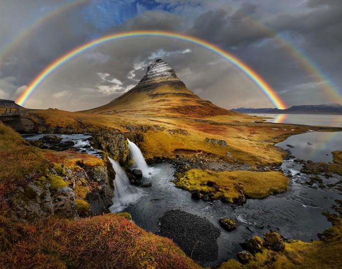 гора Киркьюфелл исландия фото 1 (682x536, 382Kb)