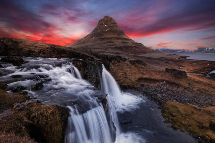 гора Киркьюфелл исландия фото 8 (700x466, 345Kb)