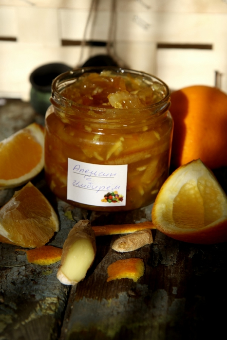 рецепт варенье из апельсинов с имбирем от александра селезнева