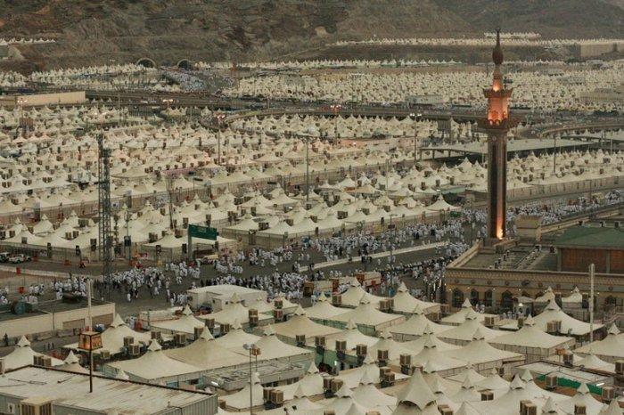 палаточный город мина саудовская аравия 1 (700x466, 326Kb)