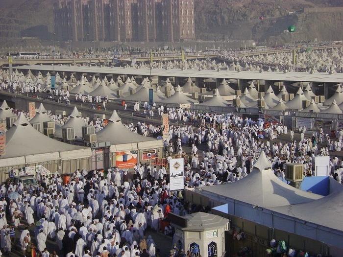 палаточный город мина саудовская аравия 5 (700x525, 441Kb)