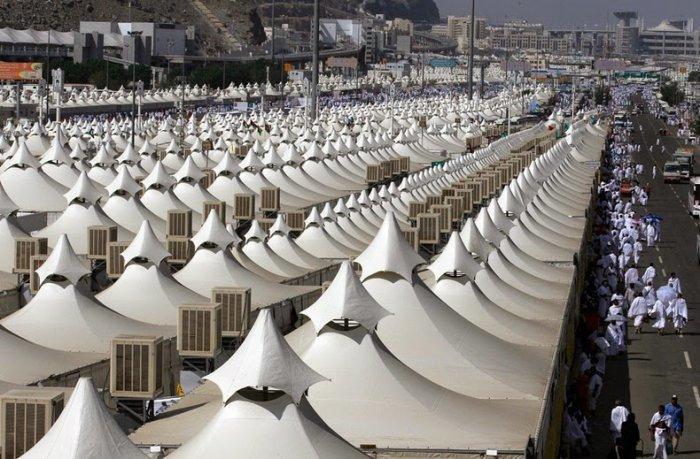 палаточный город мина саудовская аравия 7 (700x459, 290Kb)