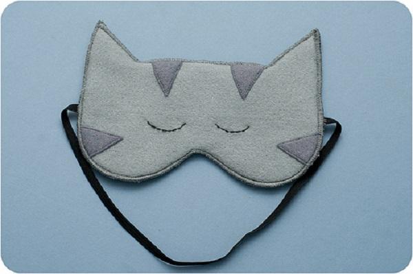 Выкройка маски для сна
