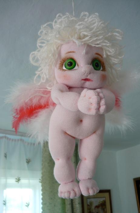 Куклы  из поролона и колготок