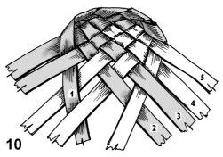 Плетем лапти из газетных трубочек (4) (251x176, 32Kb)