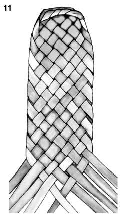 Плетем лапти из газетных трубочек (10) (245x429, 53Kb)